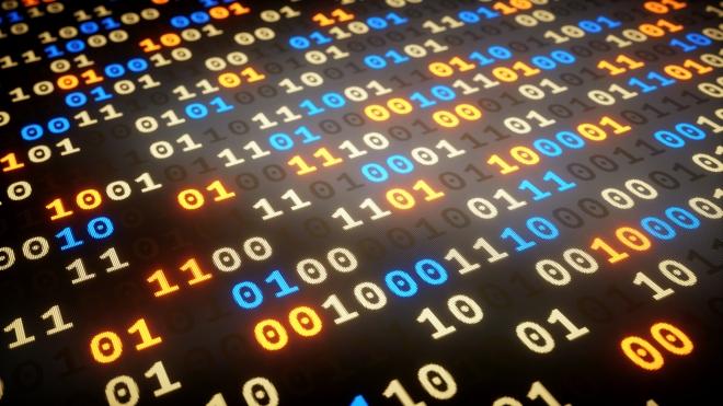 Binary Numbers Dataset Low Angle